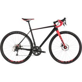Cube Nuroad WS Cyclocross Damer rød/sort